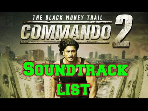 Commando 2 Soundtrack list