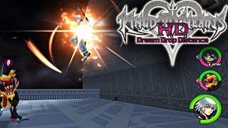 Kingdom Hearts 2.8 DDD Nightmare Boss Battle test stream