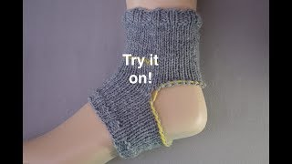 Peasant Heel Waste Yarn Alternative