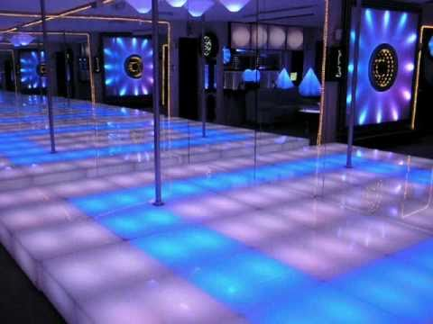 Led Dance Floor Light Energy Studio Showroom Youtube