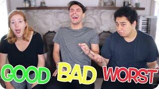 GOOD, BAD, & WORST DATING ADVICE   ft. Mason & Mel