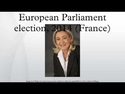 European Parliament election, 2014 (France)