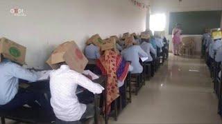 India, scatole in testa agli studenti per non farli copiare: scuola costretta a scusarsi