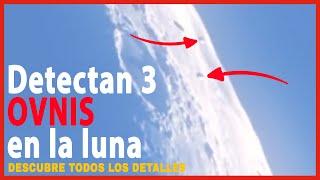 Detectan 3 OVNIS en la luna