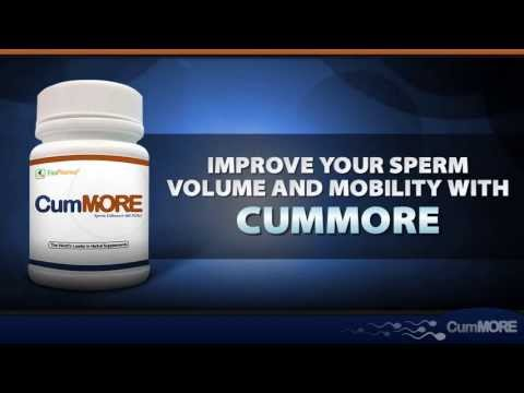 How to Increase Sperm Volume With CumMore Pills : Video Presentation
