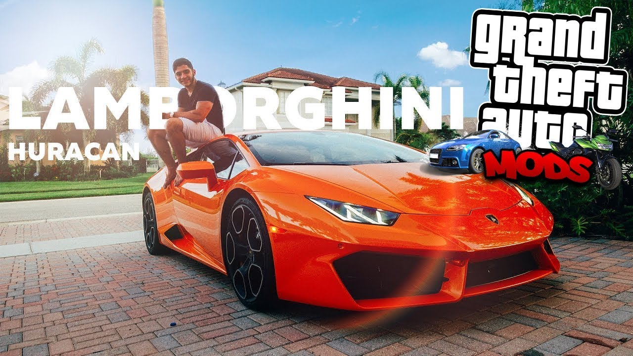 Gta Sa Nova Lamborghini Huracan 2018 Carrovlog 03 Youtube