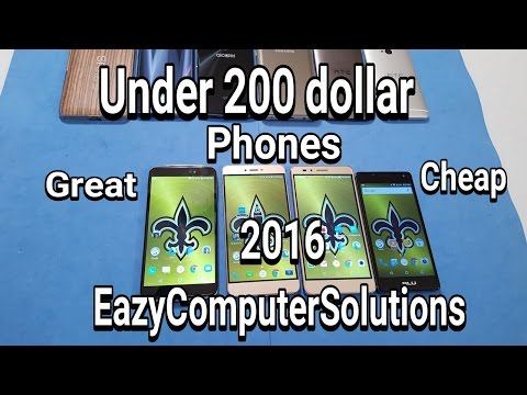 Under 200 Dollar Phones 2016: Idol 3 | Blu Vivo 5 | Honor 5X | Blu R1 HD