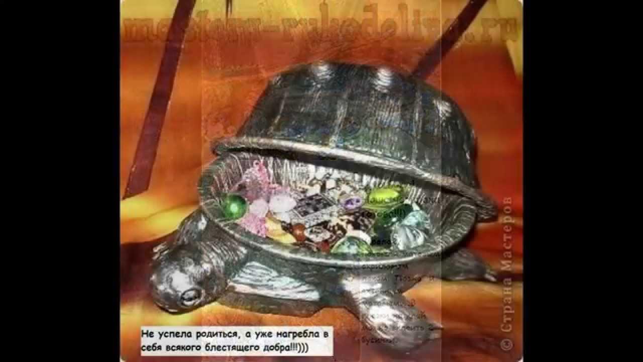 Черепаха из картона своими руками 49