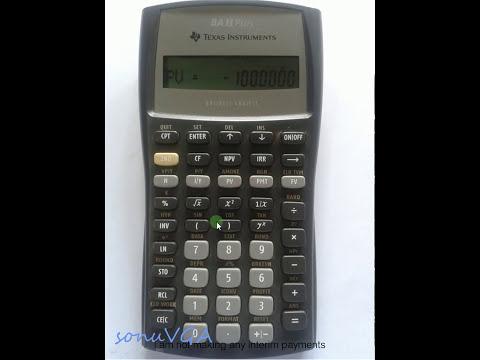 Texas Instruments | TI BA II Plus Calculator | Present and Future Value | CFA Level 1 video