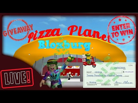 BLOXBURG - ROBLOX - WORKING GIVING MONEY ON BLOXBURG EVERY 20 MINUTE - GIVEAWAY- DONATION (OFFICIAL)