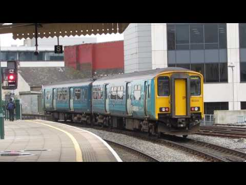 Arriva Trains Wales Class 150231 Departure Cardiff Central for Treherbert