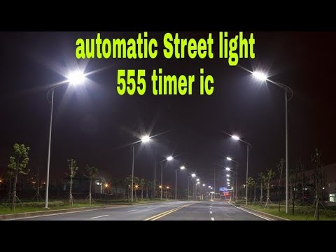 automatic street light Automatic street light control circuit diagram, in this article i am going to post a very simple circuit diagram of automatic street light control using transistor and light dependent resistors this is a very simple circuit of automatic street light control.