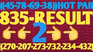835-Result  Live Sa 5pm Draw