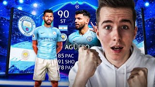 UCL AGUERO 90 PACK AND PLAY! PRZEGRAM = QUCIKSELL! | FIFA 19