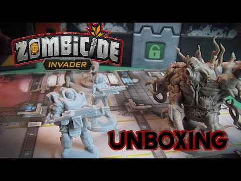 Unboxing di ZOMBICIDE INVADER in ITALIANO
