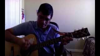 Kurai Onrum Illai (Semi-classical) M.S. Subbulakshmi - Guitar Chord Lesson by Suresh