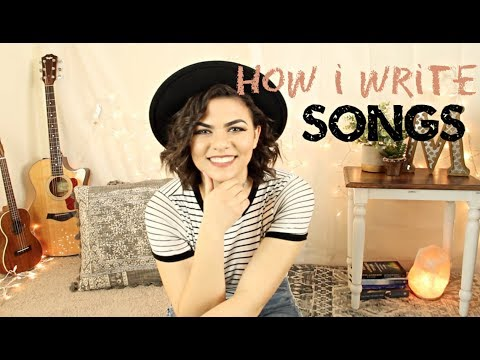 My Songwriting Process/How I Became A Songwriter!