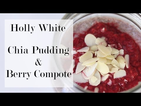 Vegan Breakfast or Snack Chia pudding & Berry Compote*
