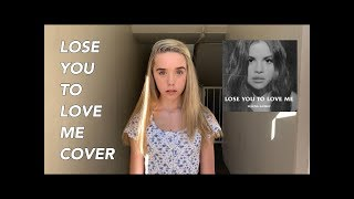 Lose You To Love Me Cover | Jenna Davis