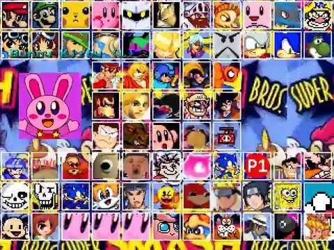 Super Smash Bros Mugen (WakuWaku7 Smash) (Updated 2019) [Download Link]
