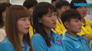 [TRỰC TUYẾN ĐỘC QUYỀN] Giao lưu cùng các nữ tuyển thủ bóng đá đoạt HCV SEA Games 29