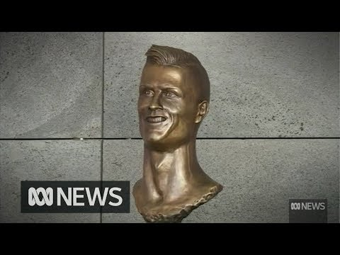That infamous odd-looking statue of Christiano Ronaldo has been replaced