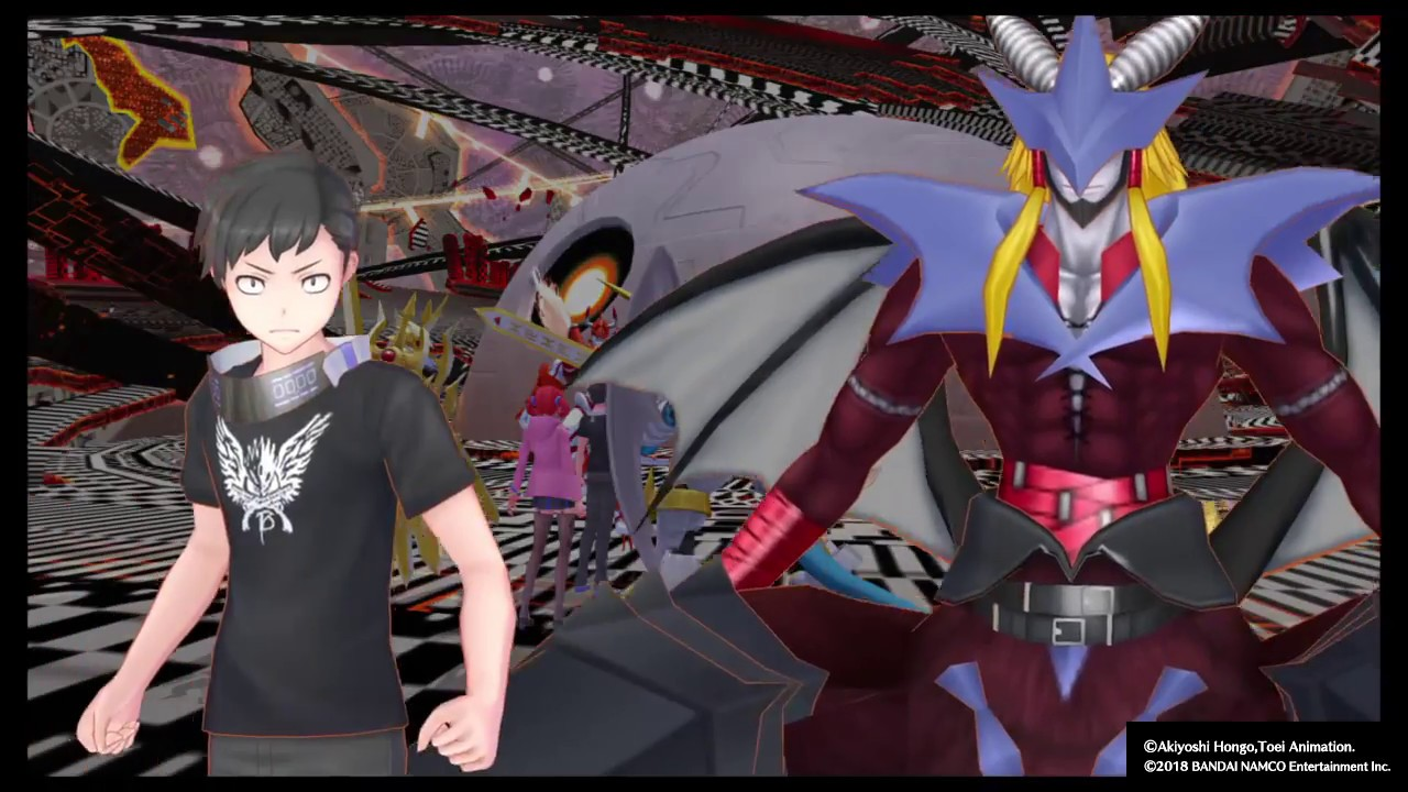 Digimon Story Cyber Sleuth Hackers Memory Grandracmon The