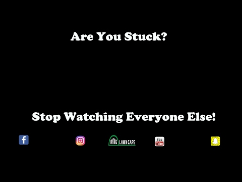 Lawn Care Stuck? | Stop Watching Everybody Else | Stillwater MN