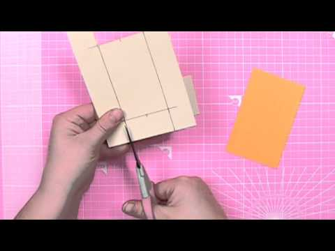 How To Make A Push N Pull Card Cardmaking Tutorial Youtube