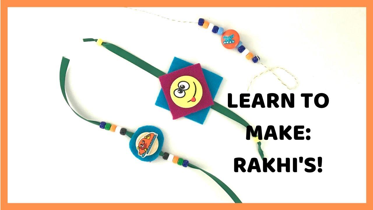 DIY Rakhi for Kids| South Asian Crafts for Kids