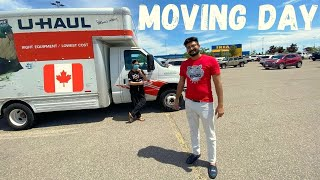 MOVING TO A NEW HOUSE IN CANADA | First Time Driving a Big U-Haul Truck | Buying IKEA Furniture