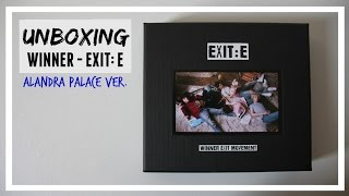 UNBOXING: WINNER - EXIT MOVEMENT : E alexandra palace ver. // MLSS
