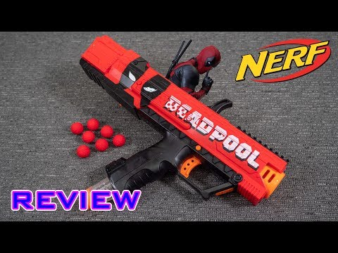 [REVIEW] Nerf Rival Apollo | Deadpool Edition!