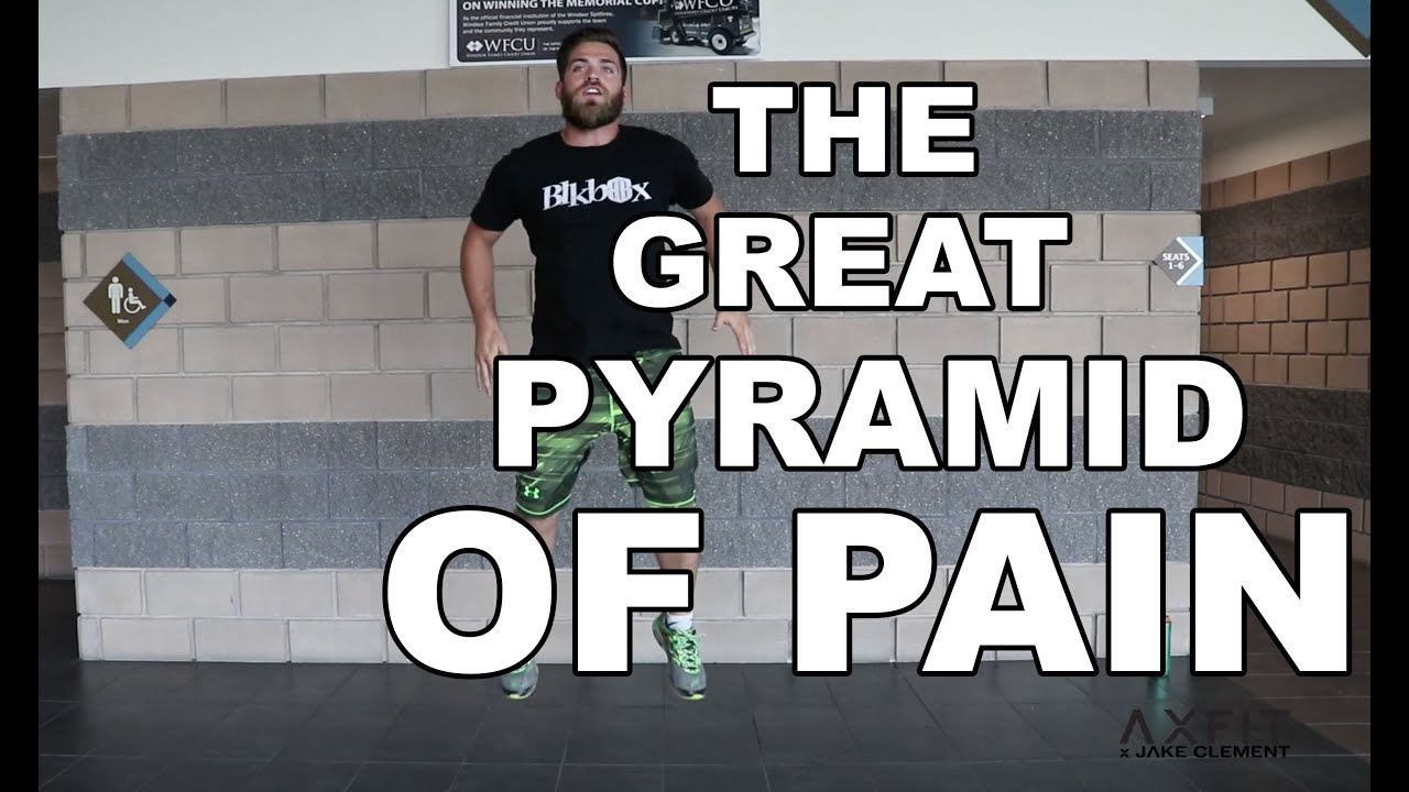 8 Minute Full Body Workout Pyramid Of Pain