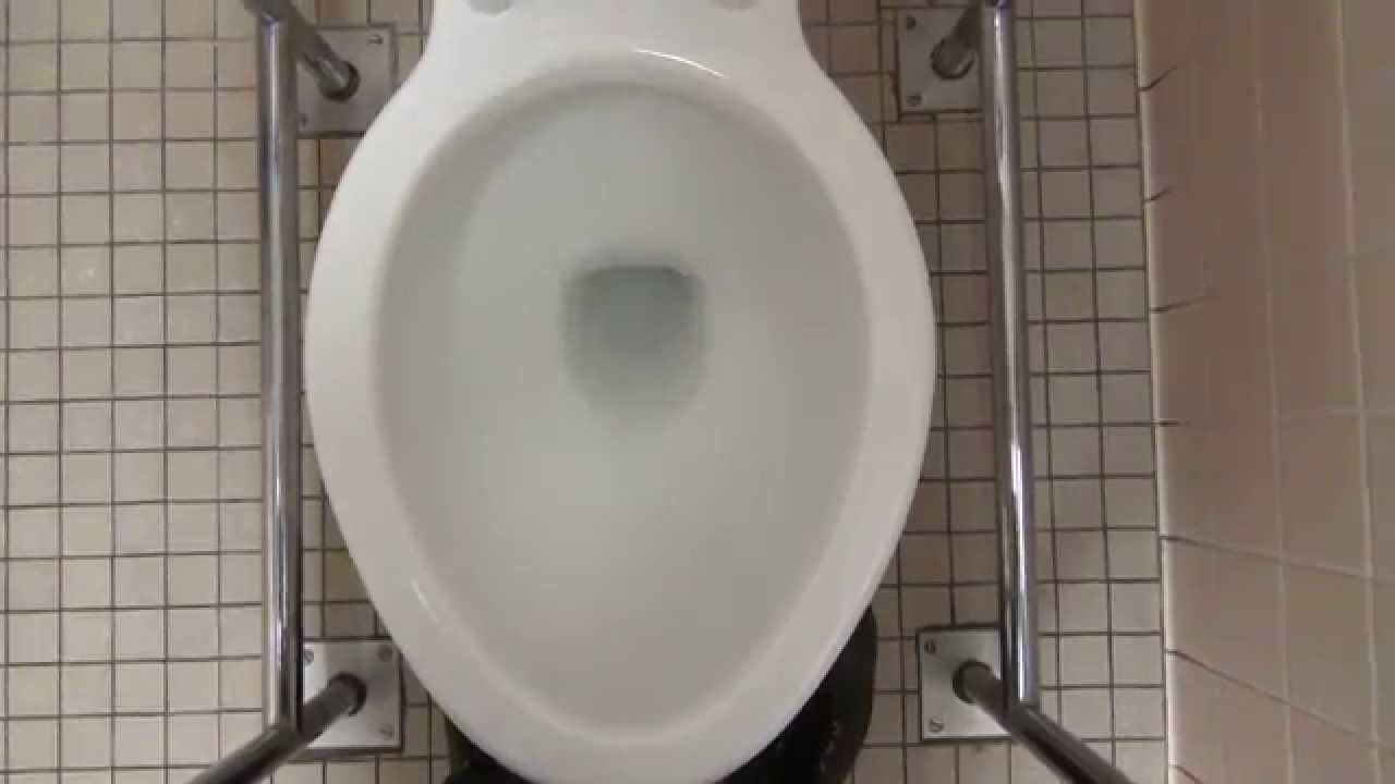 Bathroom tour kohler toilet in a hospital youtube for Commodes bathroom tour