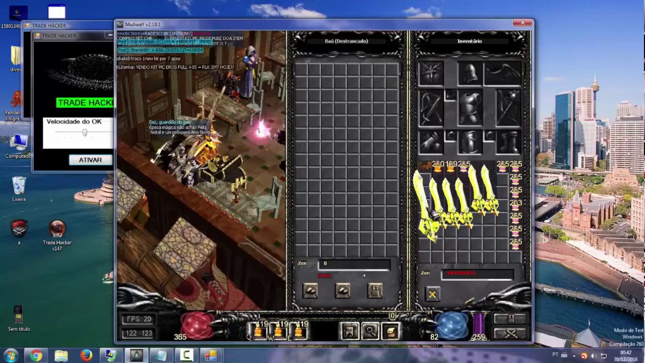 trade hacker para muaway no baixaki