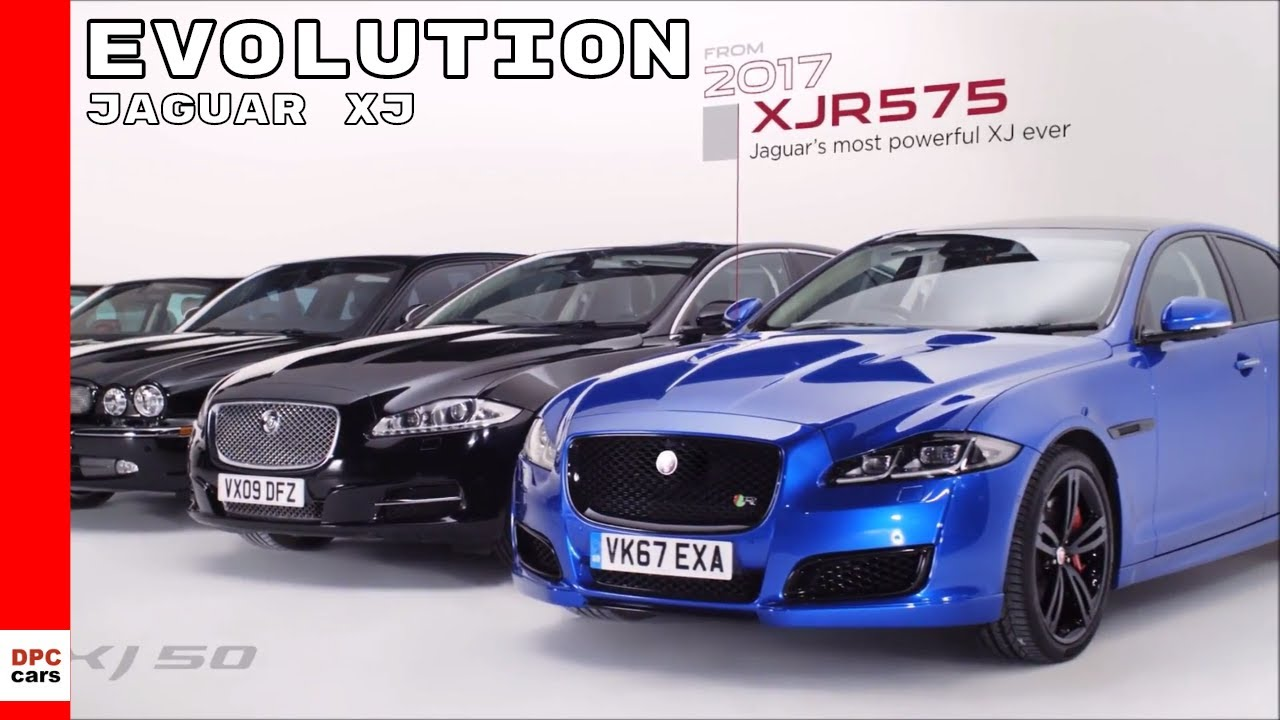 50 Years Of Jaguar Xj Flagship Luxury Sedans Youtube