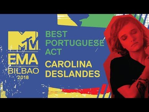 MTV EMA 2018: Best Portuguese Act - Carolina Deslandes | MTV Portugal