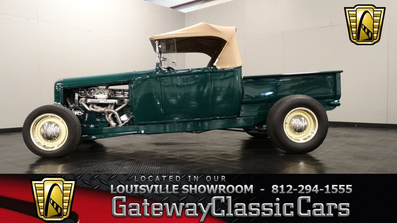 1931 Ford Model A Roadster Pickup Louisville Showroom Stock 1929 Wiring Harness 970 Youtube