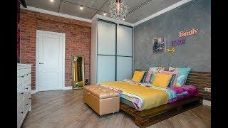 Loft-style bedrooms!