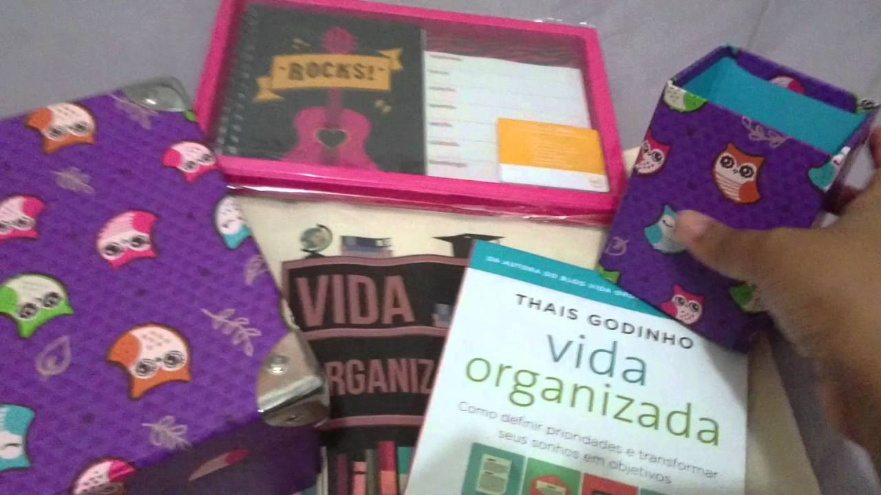 THE GIFT BOX - VIDA ORGANIZADA - Ed. Abril/2016 - YouTube