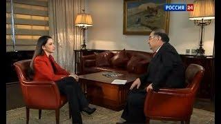 Смотреть видео Алишер Усманов: - Интервью телеканалу Россия 24,  2012 г онлайн