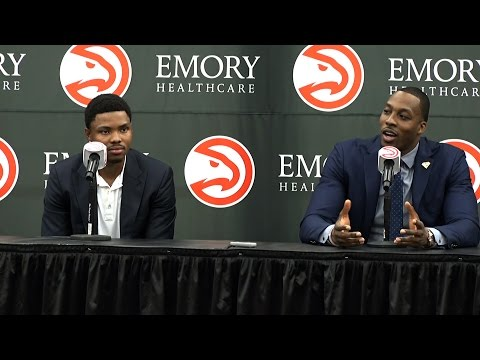Happy to be Hawks: Kent Bazemore and Dwight Howard