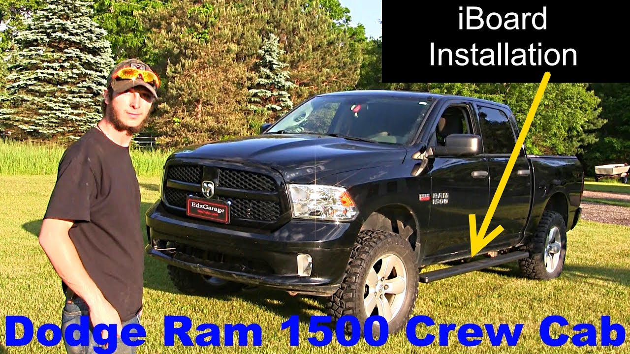 """iBoard Running Board 6"""" Installation and Review Dodge Ram ..."""