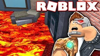 THE FLOOR IS LAVA CHALLENGE IN ROBLOX!! (Murder Mystery 2)