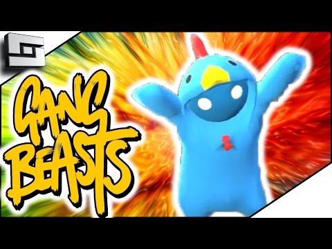 CHICKEN DINNER! (Gang Beasts Funny Moments)
