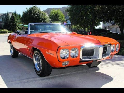 1969 Pontiac Firebird Convertible For