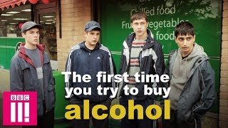 The First Time You Try To Buy Alcohol | Ladhood On iPlayer Now