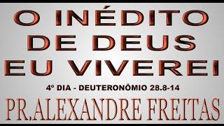 Pregação Evangélica - O inédito de DEUS, eu viverei. - Quinta-Feira