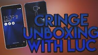 Zenfone 3 Unboxing - Cringe unboxing w/Luc016
